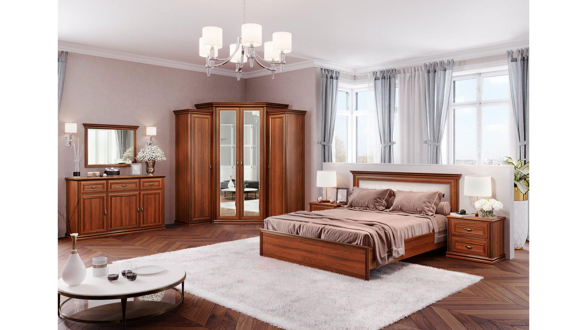 Спальня модульная (комплект 2) Кураж Венето орех экко