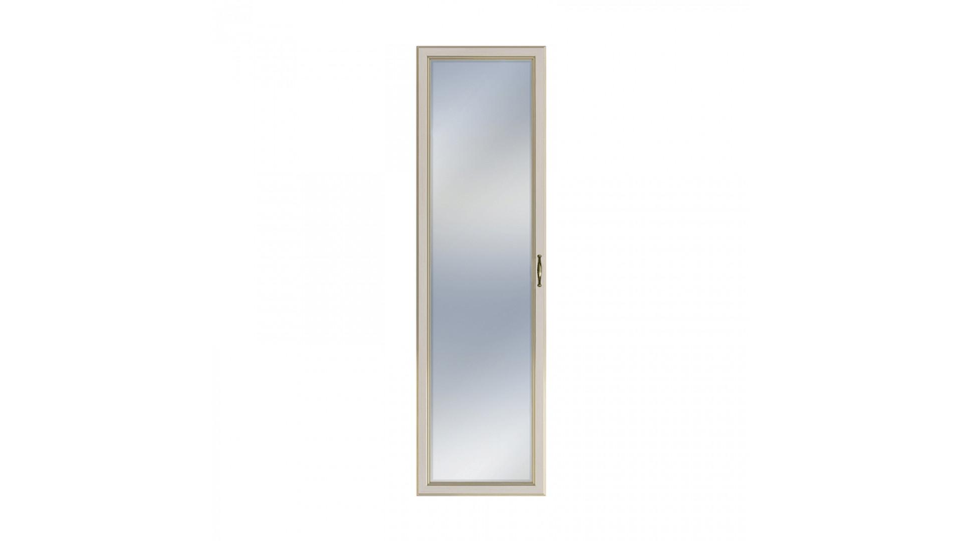 фасад двери c зеркалом Кураж Сиена