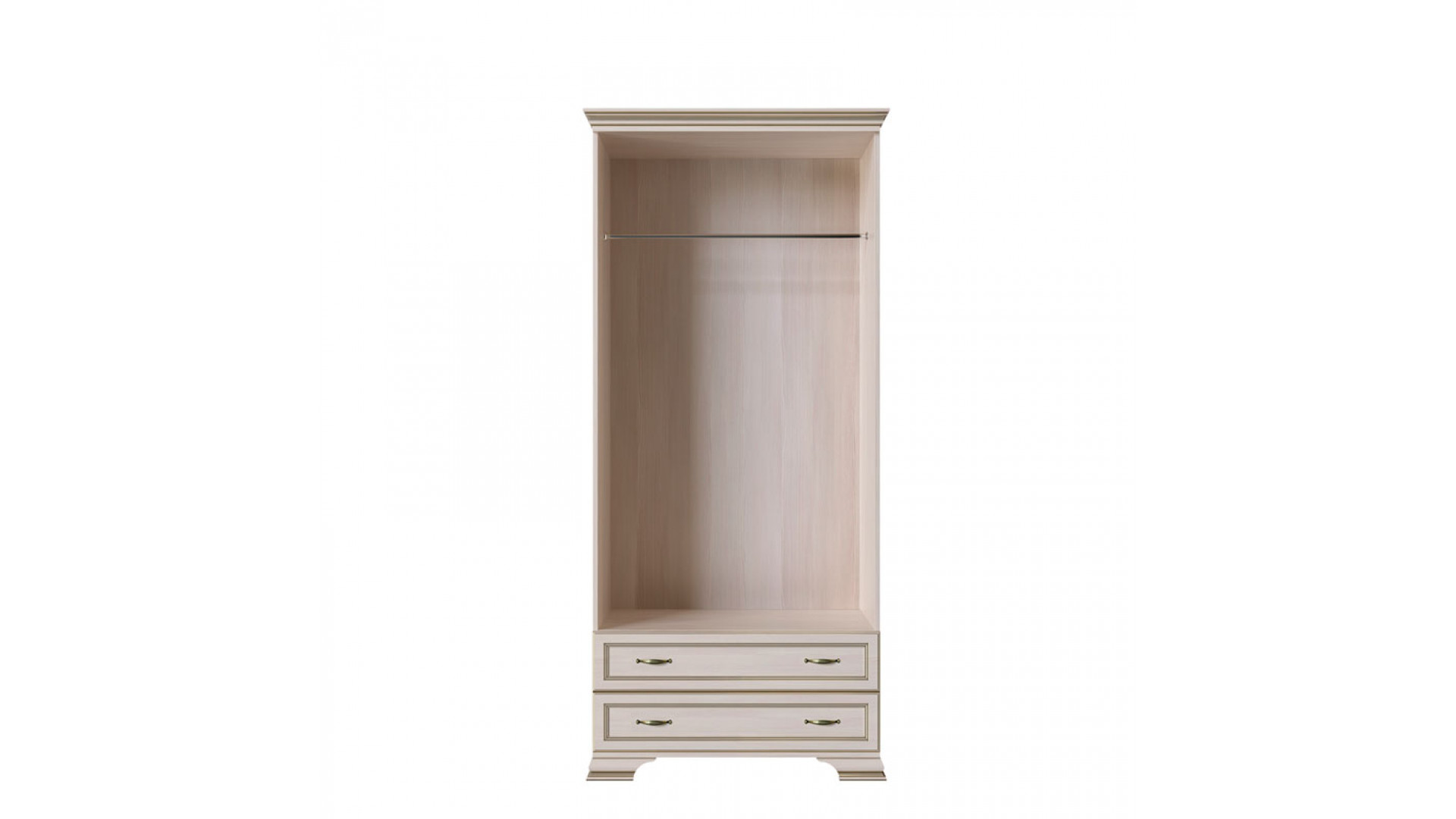 шкаф 2-х дверный (корпус) Кураж Сиена
