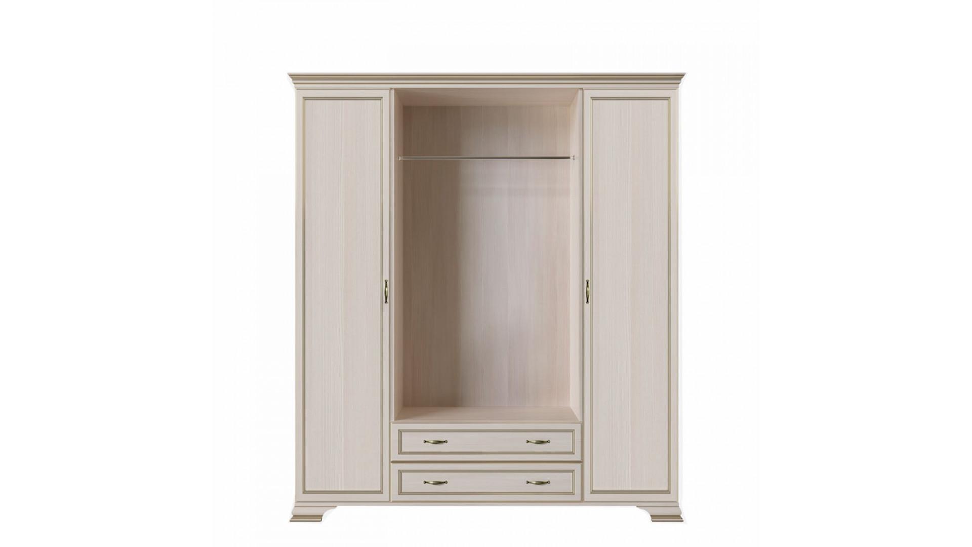 шкаф 4-х дверный (корпус, боковые двери в комплекте) Кураж Сиена
