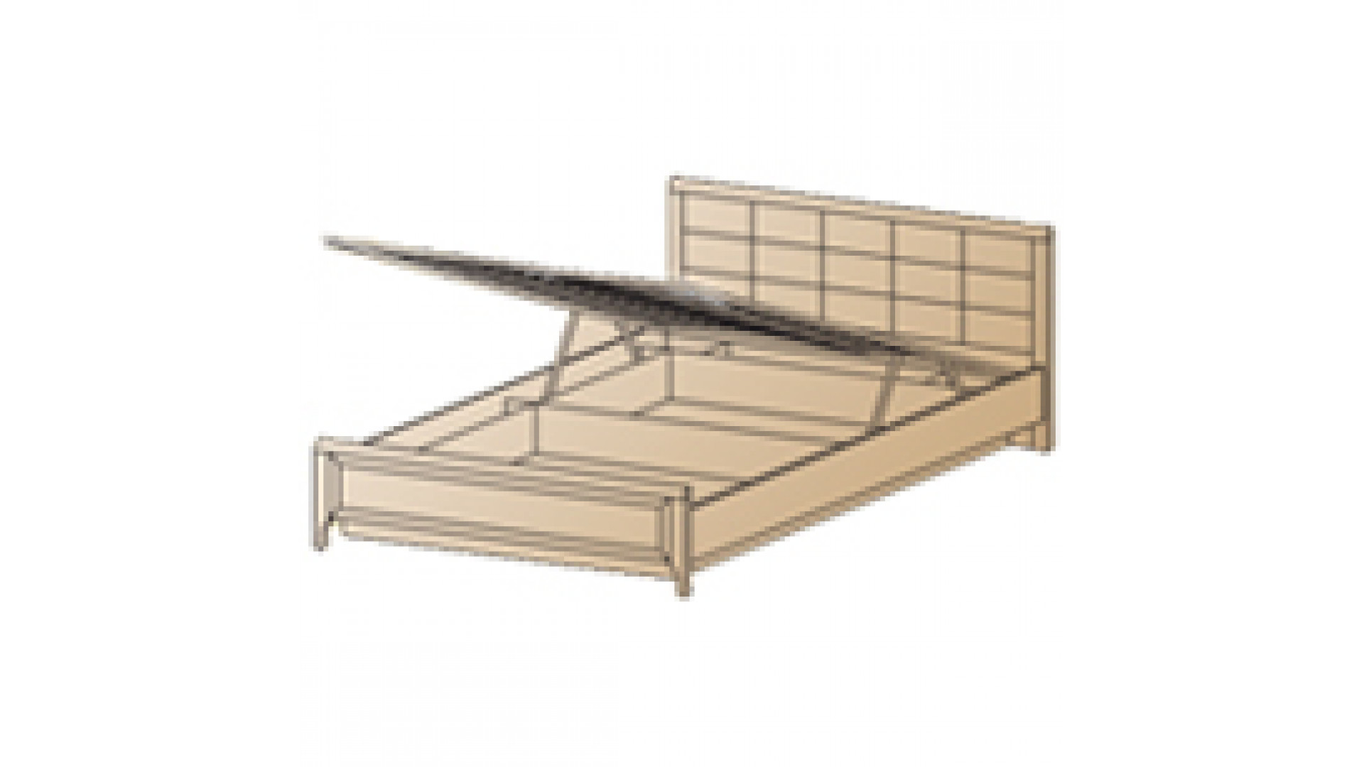 Кровать КР-1033 (1,6х2,0)