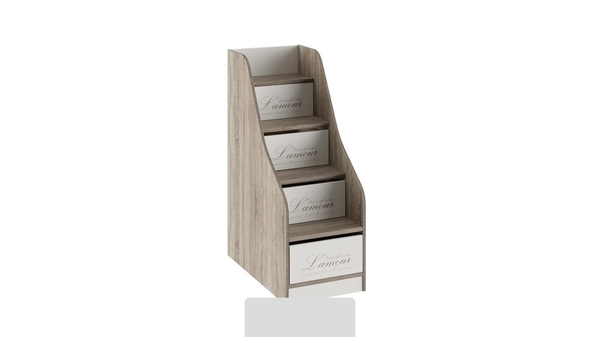 Лестница приставная с ящиками Брауни