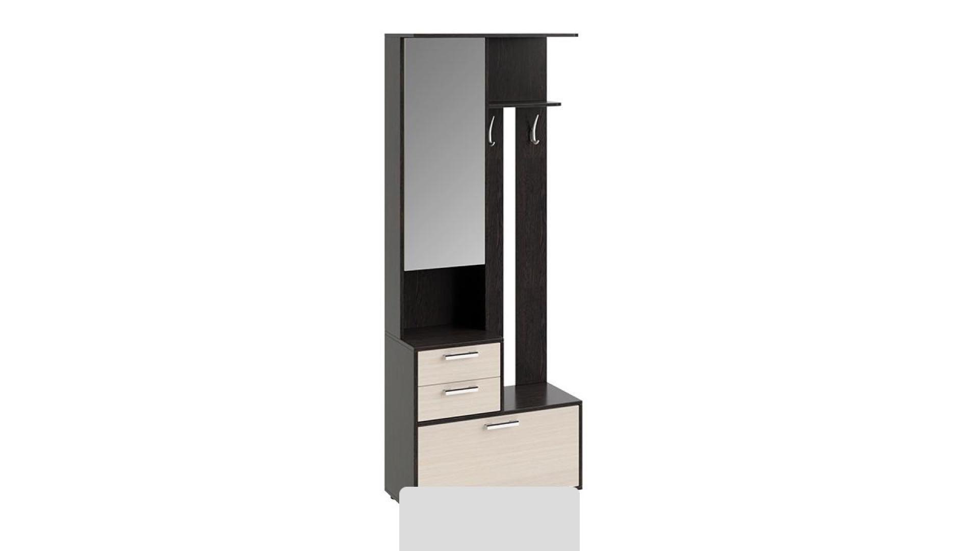Шкаф-секция комбинированная Витра тип 1 (Венге Цаво/Дуб Белфорт)